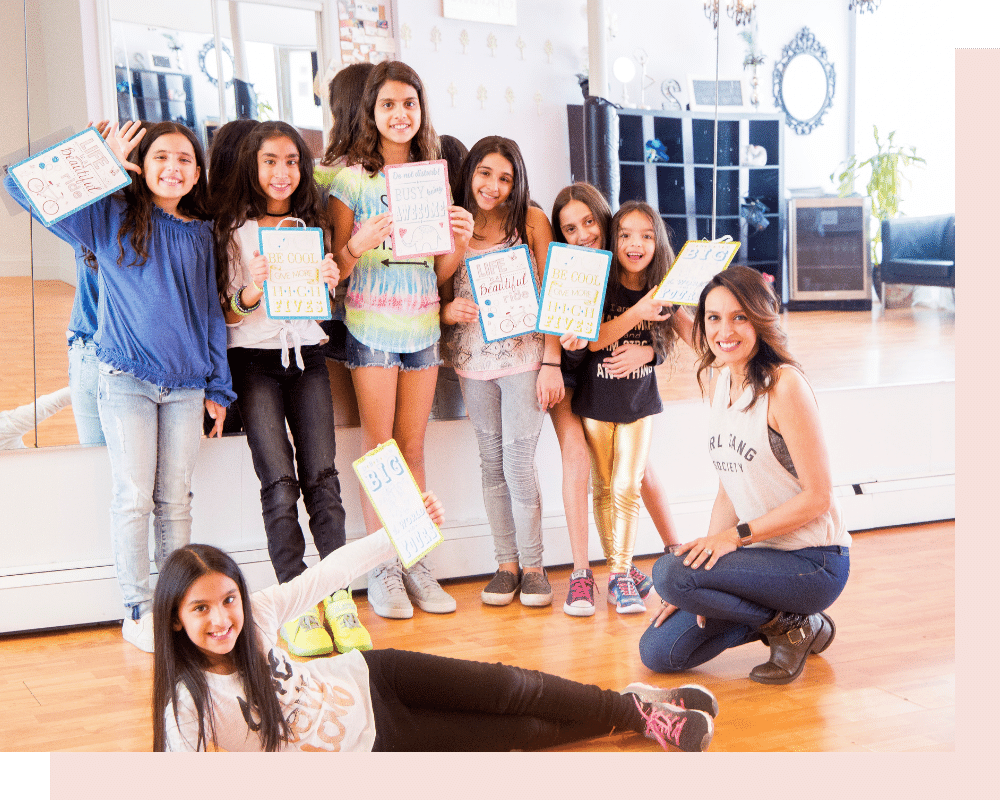GIRLIFE Girl Empowerment_Workshop - Melody Pourmoradi
